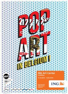 Pop Art in Belgium !