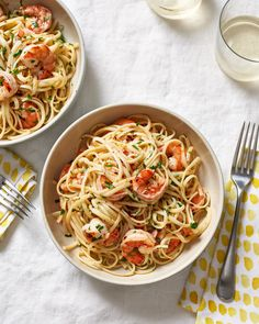 How To Make the Best Easy Shrimp Scampi (with Linguine) — Cooking Lessons from The Kitchn [ad Best Shrimp Scampi Recipe, Easy Shrimp Scampi, Shrimp Recipes, Pasta Recipes, Cooking Recipes, Dinner Recipes, Radish Recipes, Holiday Recipes, Yummy Recipes