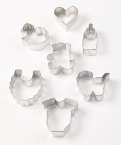 Take a look at this Baby Mini Cookie Cutter Set by R on #zulily today!