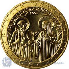 2002 Austria 50 Euro Gold Coin - thumbnail