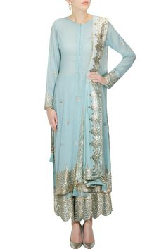 light blue gota patti - Google Search