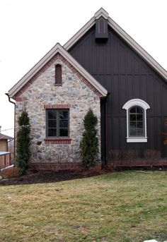 stone and board and batten homes - Google Search