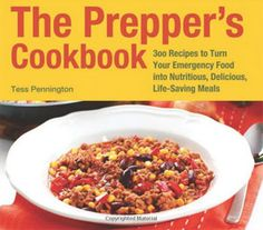 """Tess blogs at Ready Nutrition, and we've become good friends. As you might imagine, I was thrilled when her first book, a cookbook, arrived on my doorstep. The Prepper's Cookbook is an attractive book with more than 200 pages, nicely indexed.  At first I thought it was """"just"""" a cookbook, which would have been fine, but when I opened the book and began reading, I was thrilled to find that it was so much more."""