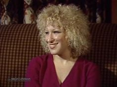 Bette Midler interview -- CityLights with Brian Linehan, from November 25, 1979 (please click through to watch entire interview)