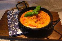 Pikante Paprika - Käsesuppe