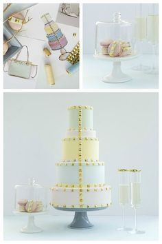 Hey, Fashion-y Brides: These Runway-Inspired Wedding Cakes Are Going to Blow Your Mind