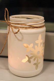 KÄSSÄÄ PALOKASSA Simple Christmas, Christmas Crafts, Christmas Decorations, Xmas, Mason Jar Crafts, Mason Jar Diy, Candle Art, Winter Fun, Felt Ornaments