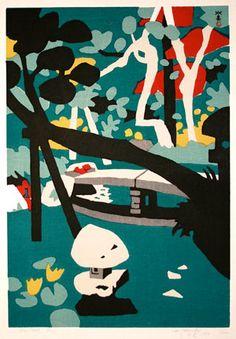 KAWANISHI Hide (1894-1965)  Sosaku Hanga movement.  i have 7 of his prints, anyone know their value?
