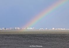 Earth Day rainbow in Ocean City MD had a surprise