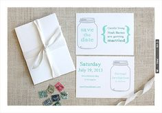 #free printables,  monogram, ,  Save the Date,  RSVP, Save the Date , Mason jar, $0 | CHECK OUT MORE IDEAS AT WEDDINGPINS.NET | #printableweddingtemplates