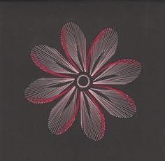Pink's / Sheilah Roper String Art, Arte Linear, Cheap Hobbies, Card Patterns, Ova, Art Model, Cute Crafts, Handmade Home, Card Making