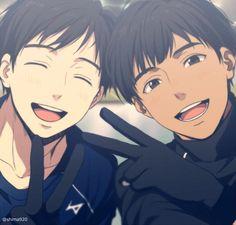 Phichit Chulanont and Yuri Katsuki | ピチット・チュラノン and 勝生勇利 | Yuri!!! On Ice!