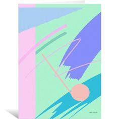 Fresh paint Greeting Cards by Yoko Honda | Nuvango