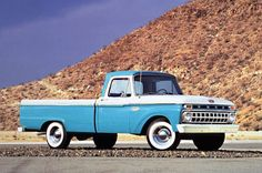 my husband wants an old Ford truck. I'm liking this one