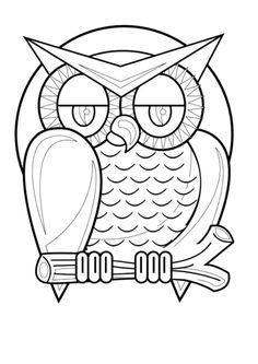 owl coloring pages see more partys halloween print picture 30 - Cute Halloween Owl Coloring Pages