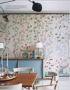 Chinoiserie Chic: Chinoiserie Panels How To