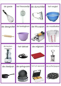 in de keuken mem orie Dutch Language, Learn A New Language, Learn Dutch, Autism Learning, Food Vocabulary, Dutch Words, Montessori Classroom, Dutch Recipes, Creative Teaching