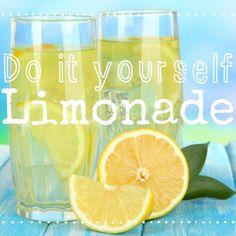 http://eatsmarter.de/ernaehrung/news/limonade-selber-machen #limonade #lemonade #diy #sommer #erfrischung #getraenk #drink #selbermachen