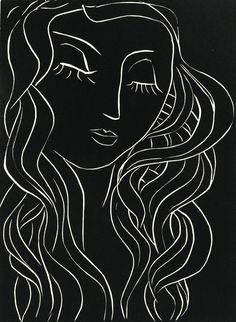 """dappledwithshadow: """"Henri Matisse Pasiphaë 1944 """""""