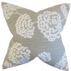 Liven up your living room seating group or transform the look of basic bedding with this cotton pillow, showcasing a dandelion print.  ...