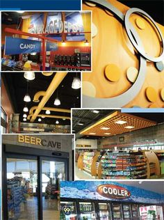 49 Best convenience store interior ideas images | Convenience store ...