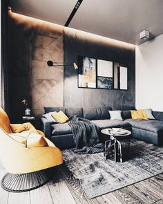 Do You Need Ideas For Modern Living Room In Your Home? Home Interior, Interior Design Living Room, Living Room Designs, Luxury Interior, Interior Ideas, Interior Colors, Living Room Modern, Living Room Decor, Cozy Living