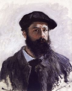 Claude Monet (1840-1926, France) | Autoportrait à Beret, 1886
