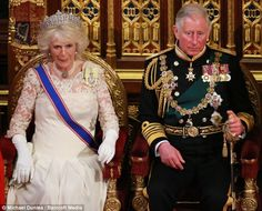 A Royal occasion: A spokesman for Clarence House played down the significance of their attendance, saying the pair's diaries were clear