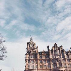 Edinburgh looking like an absolute honey