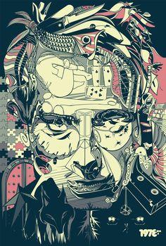 Cesar Moreno Illustrations 261 pic on Design You Trust