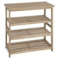 Shoe Rack House Additions Finish: Natural Shoe Rack Furniture, Furniture Making, Shoe Rack Wayfair, Stackable Shoe Rack, Wooden Shoe Racks, Wood Rack, Shoe Storage Cabinet, Oak Stain, Dcor Design