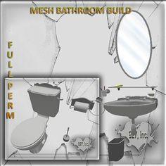 Mesh Bathroom Build 20 impact  full perm