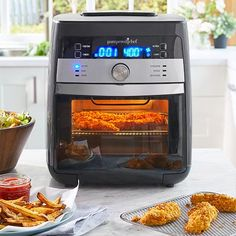 Air Fryer Chicken Wings Recipes Pampered Chef US Site. Deluxe Air Fryer Shop Pampered Chef US Site. Home and Family Pampered Chef Party, Pampered Chef Recipes, Pavlova, Stromboli Recipe, Beef Jerky, Rotisserie Chicken, Air Fryer Recipes, Cooking Tips, Cooking Food