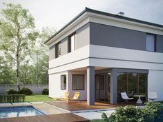 DOM.PL™ - Projekt domu SD Kartagina CE - DOM SD1-94 - gotowy koszt budowy Classic House, Modern Classic, Room Interior, Home Improvement, Construction, Outdoor Decor, Bergen, Home Decor, Houses