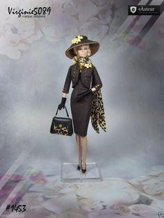 Tenue Outfit Accessoires Pour Fashion Royalty Barbie Silkstone Vintage 1453 | eBay                                                                                                                                                      Plus