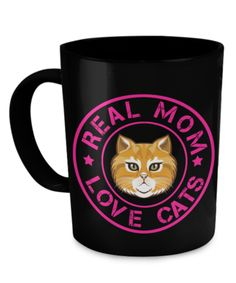 Real Mom Love Cats!