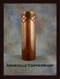 Asheville CopperShop - Roycroft Design - Copper Vase