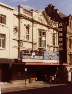 The Regent Cinema on Renfield St, Glasgow Paisley Scotland, Cinema Theatre, Dublin City, West End, Old Photos, Past, Mansions, Architecture, Places
