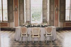 18th century inspired wedding