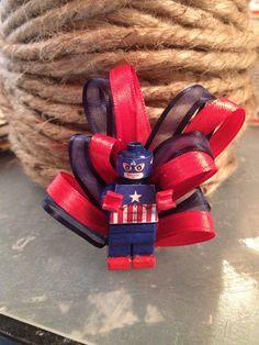 Captain America Boutonniere Wedding Avengers Superhero Comica on Etsy, $20.00