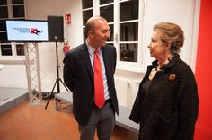 Accademia Costume & Moda CEO Furio Francini welcomes Gianna Gissi ( accademia alumnus and renowned Costume Designer) #accademiacostumeemoda #giannagissi #costumedesigner #daviddidonatello