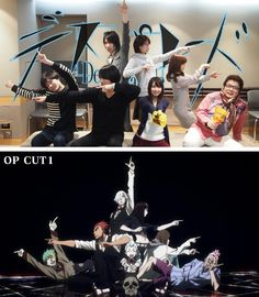 And here we have the Japanese cast of Death Parade joining in on the fun! All the artists (musical, acting, animating) involved with this series are just awesome!