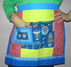 Bowl of Cherries Apron by ItsaDesigns.com