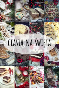 Boże Narodzenie - ciasta i desery Christmas Deco, Winter Christmas, Christmas Time, Xmas, Holiday, Polish Recipes, Sweet Recipes, Special Occasion, Food Porn