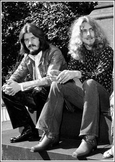 John Bonham & Robert Plant