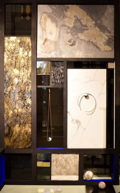 """Exhibition """" SPIRIT OF THE BAUHAUS """" at the Musée des Arts Décoratifs from the 19/10/16 to the 26/02/17. Julien Vermeulen conveys the magic of feathers and stones into the design of a mural for the latest DE LA FORGE """"Mineral garden"""", displayed in the Musée des Art Décoratifs' shop.  Exposition """"L'ESPRIT DU BAUHAUS"""" au Musée des Arts Décoratifs du 19/10/16 au 26/02/17. Julien Vermeulen réalise un mural qui met en scène la dernière collection DE LA FORGE installé à la boutique du Musée."""