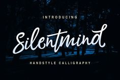 Silentmind Typeface by RiverSide on @creativemarket