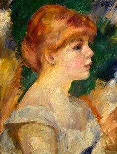 Auguste Renoir - Portrait de Suzanne Valadon