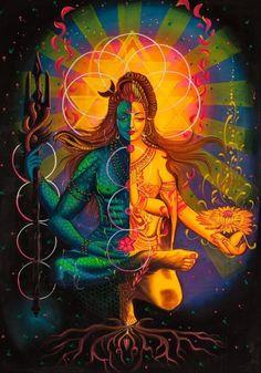 "🕉️Shiva💞Shakti🕉️ "" I don't know where I end . and you begin "" (Rumi) 💖 Arte Shiva, Shiva Art, Krishna Art, Hindu Art, Shiva Shakti, Shiva Parvati Images, Shiva Yoga, Kali Goddess, Goddess Art"