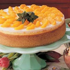Orange Chocolate Cheesecake Recipe.          This is a great tasting cheesecake and not very difficult to make either.